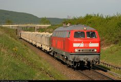 218 249 DB Cargo 218 at Wilchingen, Switzerland by Reinhard Reiss