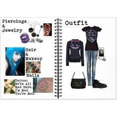Were All Mad Here, created by mtrench11(Me,Alex MB) on Polyvore.... I Love this set