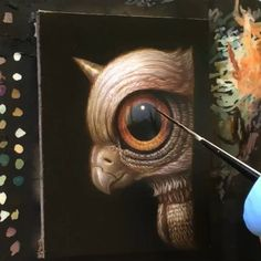 Magritte, Surrealism, Owl, Bird, Animals, Instagram, Animales, Animaux, Owls