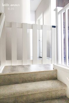 It's exceptional! See these 11 creative concepts all relating to Diy Dog Gate, Diy Baby Gate, Baby Gates, Dog Gates, Baby Gate For Stairs, Barn Door Baby Gate, Stair Gate, Budget Kitchen Remodel, Kitchen On A Budget