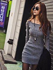 Women's Cold Shoulder Bodycon Mini Dress – USD $ 20.29
