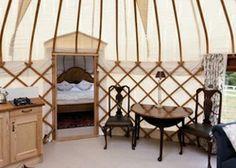 The Yurt at Harptree Court