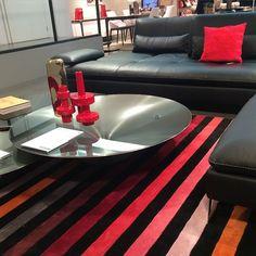Living-room by Roche Bobois & Sonia Rykiel Home. #rochebobois #livingroom #soniarykiel #homedesign @soniarykiel
