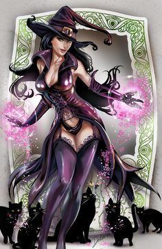 Purple Witch •Cris Delara