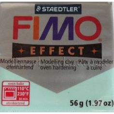 FIMO EFFECT MINT I adore this color!