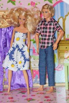 A Crafty Escape: Barbie & Ken Clothes