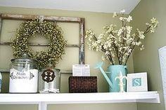 laundry room decor - Google Search