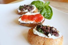 Olive Tapenade with a Goat Cheese Crostini