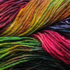 4 You With Love: Rainbows and Butterflies - A Malabrigo Rasta Afghan