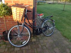 New bike! Name of Olive. As in Olive Oyl. Olive Oyl, Names, Bike, Bicycle Kick, Bicycle, Bicycling, Cruiser Bicycle, Bicycles