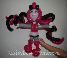 Draculaura from Monster high balloon model