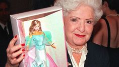 Ruth Handler, the inventor of Barbie (1959), whose correct name is Barbara Millicent Roberts. Ruth Handler died 2002 at the age of 86
