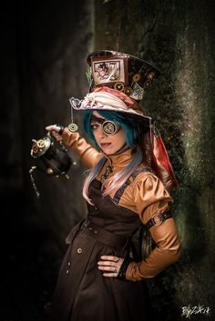 Steampunk Mad Hatter. Not my exact thing, but there are elements here I like.  亗 Dr. Emporio Efikz 亗 : Photo