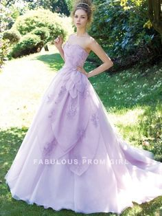 Ball Gown Sweetheart  Ruffles  Sleeveless Floor-length Organza Prom Dresses / Evening Dresses