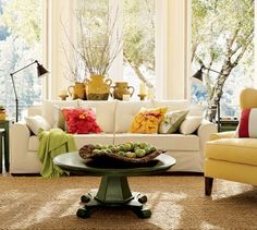 ppottery barnnstyle livingrooms | thought that I could create this look on a very small decorating ...