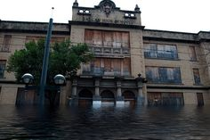 Dallas-High-School-Flood