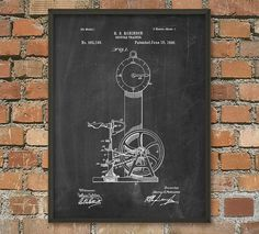 Exercise Bicycle Patent Print  Vintage Fitness by QuantumPrints
