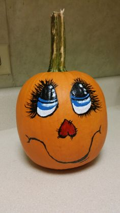 Pumpkin Crafts, Diy Pumpkin, Pumpkin Ideas, Fall Crafts, Holiday Crafts, Holiday Fun, Halloween Rocks, Holidays Halloween, Halloween Pumpkins