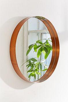 Averly Large Circle Mirror