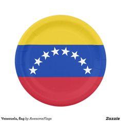 Venezuela flag paper plate  sc 1 st  Pinterest & Union Jack Party Plates | Party plates and Union jack