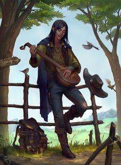Minstrel by sagasketchbook on DeviantArt