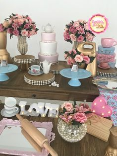Farewell Parties, Kitchen Shower, Bridal Shower, Baby Shower, Baking Party, Cinderella Party, Ideas Para Fiestas, Candy Shop, Open House