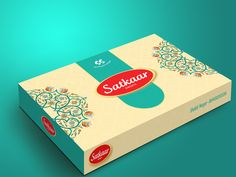Creative Traditional Mithai Box Packaging | Delhi on Behance