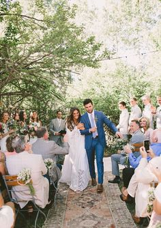 Walk Down the Aisle Tessa Barton Wedding