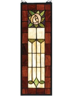 Tasteful, understated, beautiful stained glass I'd really have if everything worked out for it.