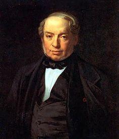 Baron James de Rothschild (1792-1868), banquier.