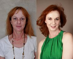 Lovely My makeover was price each minute, I now understand that the change begins with how y . Face Makeover, Beauty Makeover, Makeup Makeover, Makeup Tips, Hair Makeup, Before And After Haircut, Abs Women, Look Thinner, Color Me Beautiful
