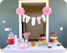 Image result for baby shower set up