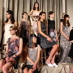 Check. It. Out. The gorgeous looks from the @Erin B Fetherston #NYFW show. #OliviaGarden #BeautyTools