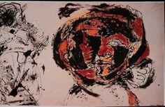 Was geschieht, wenn ein Kopf mit etwas schwanger geht? (Jackson Pollock, Portrait and a Dream, 1953)  Zeus verschlang zunächst die schwangere Metis (Göttin der Klugheit), sodann gebar er unter schrecklichen Schmerzen Athene (Göttin des Krieges, der Weisheit und der Künste) aus seinem Kopf!
