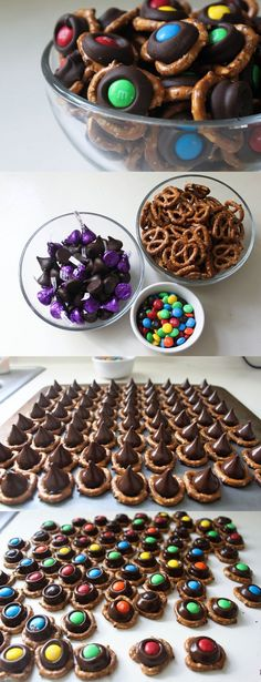 DEFINITELY making these! Chocolate Pretzel Bites | 17 Super-Easy Appetizers That'll Make You Look Sophisticated