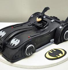 Dorty pro děti – dětské dorty – Batman – Batmobil 3D