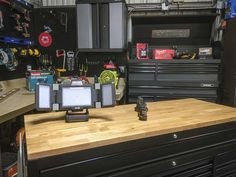 The new Husky workbench and and Husky tool box are tougher, sport a new look, and may be the best tool storage value you will find all year.
