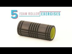 Equip Yourself: At-Home Foam Roller Exercises: Foam rollers massage your muscles to give them relief after a workout. Try these five moves from personal trainer Brett to give your body some TLC. Foam Roller Exercises, Back Exercises, Hard Workout, Intense Workout, Personal Training Programs, Muscle Roller, Get Toned, Training Schedule, Massage Roller