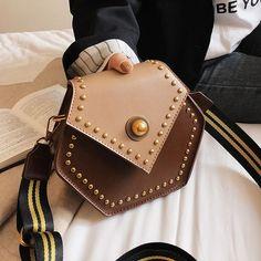Hexagon Crossbody Handbag