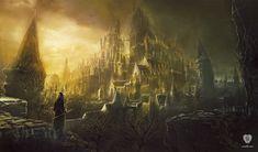 Artwork High Wall of Lothric - Dark Souls III FromSoftware