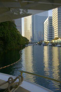 Ferry boat from Asakusa to Odaiba