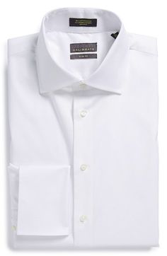 Calibrate Trim Fit French Cuff Dress Shirt available at #Nordstrom
