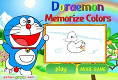 Play Doraemon memorized colors.