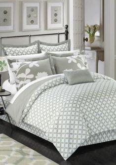 Coral Bedding Sets, Designer Comforter Sets, Bed Ensemble, Grey Comforter Sets, Euro Shams, Bedding Collections, Diamond Pattern, Duvet Cover Sets, Fashion Forward