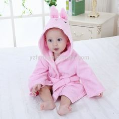 bb7ad4ec6d Infant Kids boys girls Animal Baby bathrobe baby Long Sleeves hooded bath  towel infant bathing Clothing New Arrival