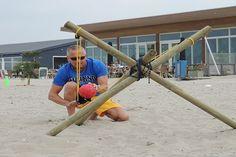 Expeditie Robinson op het strand - 1001activiteiten.nl