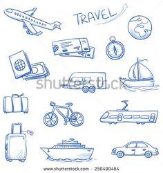 icon set travel holidays vacation with plane car train bike ship compass luggage trailer passport globe tickets. Travel Icon, Car Travel, Train Travel, Travel Logo, Travel Luggage, Travel Usa, Icon Set, Bike Shipping, Car Vector