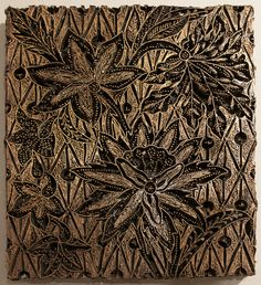 Printing block (tjap) used for batik. Copper. KSUM 1983.1.1052