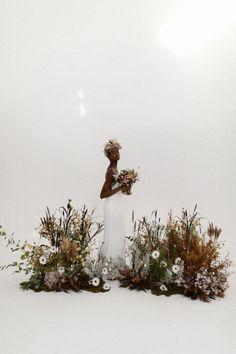 * Stylish bridal inspiration with a modern bohemian twist bohemian bride, boho bride, Agnes black photography, four five s. Wedding Fair, Boho Wedding, Floral Wedding, Wedding Ceremony, Wedding Flowers, Forest Wedding, Woodland Wedding, Wedding Bouquets, Wedding Dresses