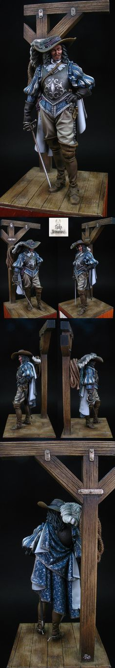 Romeo Models - Spanish Noble s.XVII Sculpted by Maurizio Bruno, painted by Milan Dufek